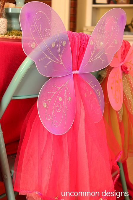 Fairy Party Decorations #DIY #Girl's Birthday #Jellifi Great for a party favor at the end for each kid as well.