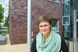 Bei Karina Ebertz lief die Einschreibung für den Master in BWL zum WiSe 2012/13 reibungslos. Foto: Jana Tresp
