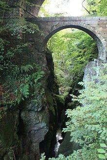 Rumbling Bridge near Dunkeld - Perthshire, Scotland