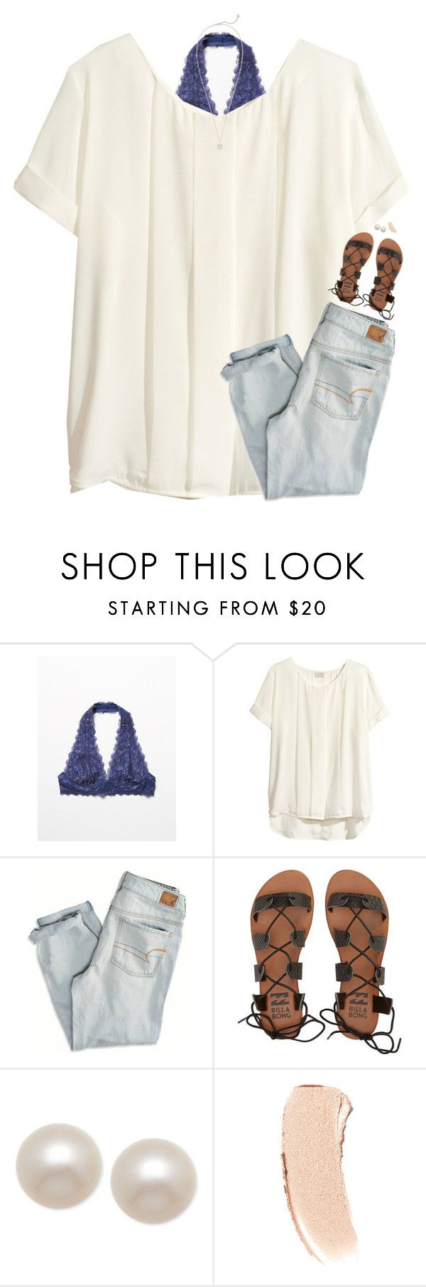 """any girl like you deserves a gentleman <333"" by classynsouthern ❤ liked on Polyvore featuring Free People, H&M, American Eagle Outfitters, Billabong, Honora, Bobbi Brown Cosmetics and Kendra Scott"