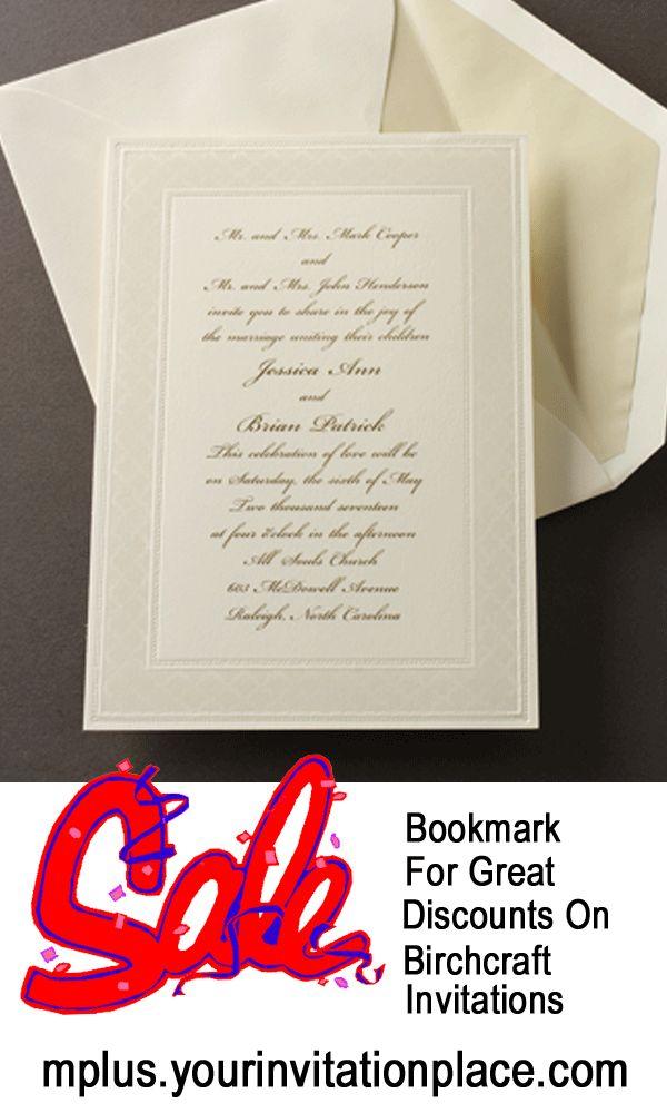 fast shipping wedding invitations%0A     Off Birchcraft Invitations