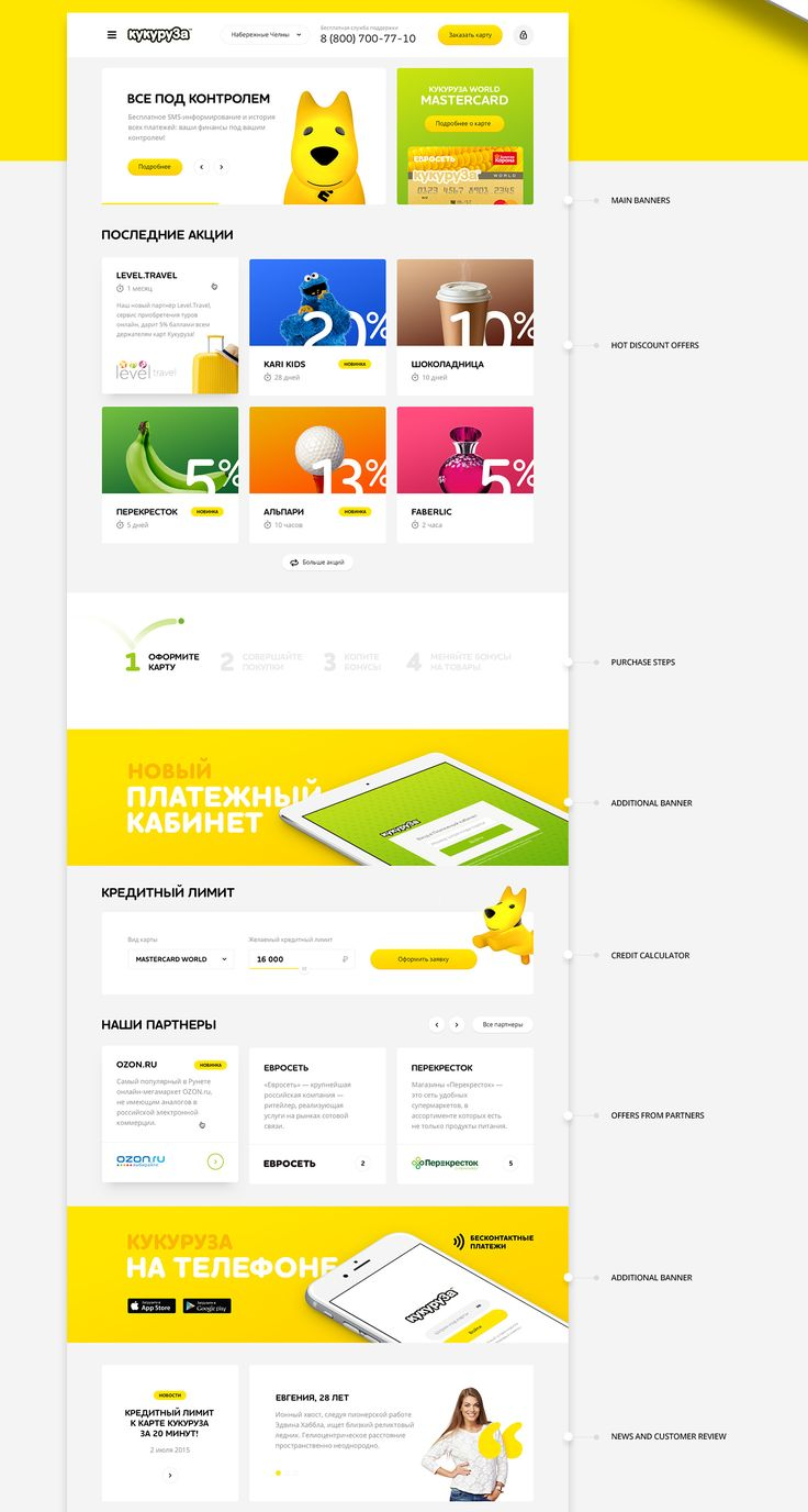 Our main task is to rethink the concept of popular russian discount programm Kukuruza. To make it simple and bright.