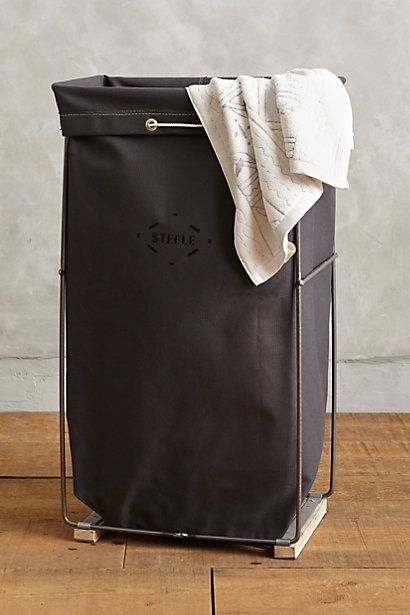 tall canvas hamper #anthrofave