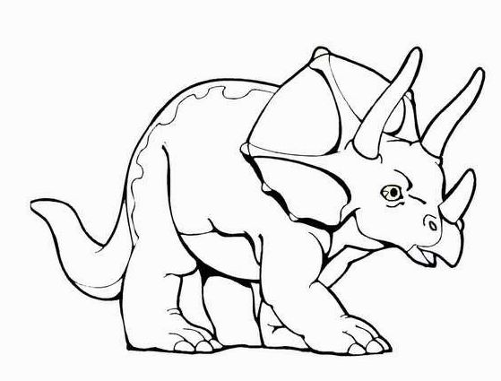 40 outstanding dinosaur coloring pages - Coloring Pages Of Dinosaurs
