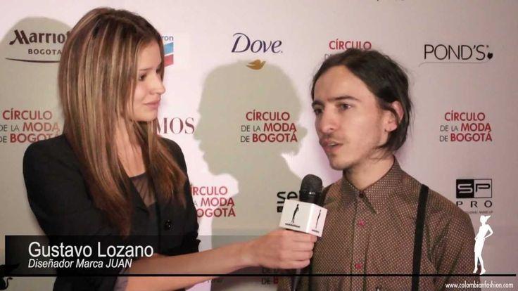 Círculo de la Moda de Bogotá 2012 - Entrevista Juan