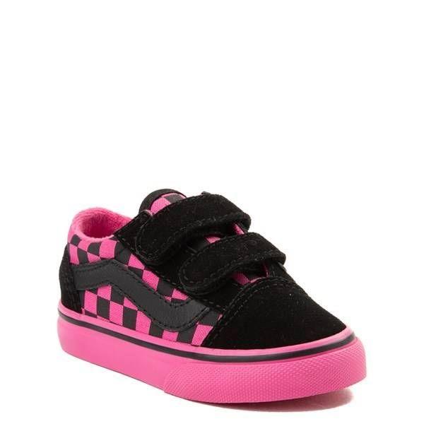 395aa3f3e85963 Alternate view of Toddler Vans Old Skool V Chex Skate Shoe