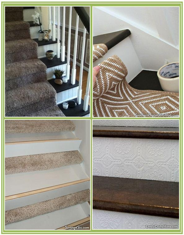 Lighting Basement Washroom Stairs: Staircase Makeovers: 10+ Handpicked Ideas To Discover In