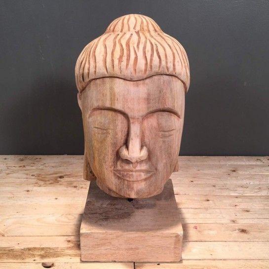 Ξύλινο διακοσμητικό κεφάλι βούδα με ξύλινη βάση. Κατάλληλο για να στολίσετε τον μπουφέ σας.Το NEDAshop.gr υποστηρίζεται από το κατάστημα μας όπου μπορείτε να δείτε όλα τα αντικείμενα από κοντά.Το κατάστημα μας βρίσκετε: Λεωφόρος Θηβών 503 Αιγάλεω http://nedashop.gr/Spiti-Diakosmhsh/diakosmhtika-antikeimena/ksylino-kefali-boyda