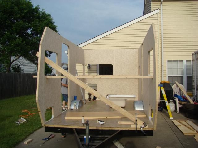 DIY How to home build an RV