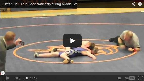A compilation of videos portraying good sportsmanship by young athletes.