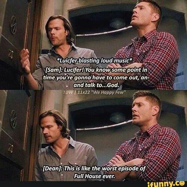 """Supernatural. Add this one to the list for """"They got a gif for everything"""""""