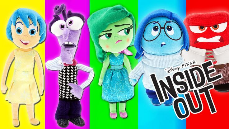 Disney Pixar Inside Out Emotions Plush Toys Sadness Joy Disgust Anger Fear Bing Bong by Rainbow Toys TV https://youtu.be/0y_A15tCiHg