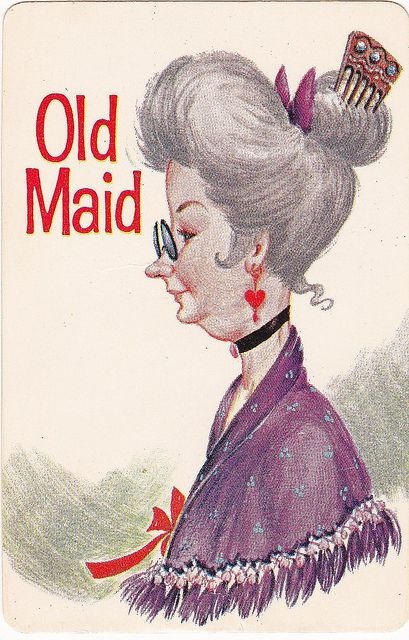 Old Maid Playing Cards. I used to play for hours. ♥ Such a fun game!