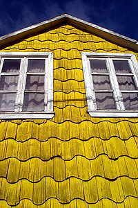 house ,chiloe