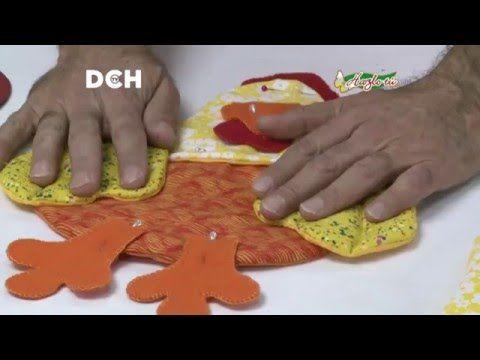 Cenefa con gallinas youtube adornos para cocina for Cenefas para cocina