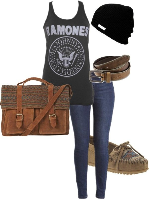 """request - band tee shirt :)"" by marshmellooooo ❤ liked on Polyvore"