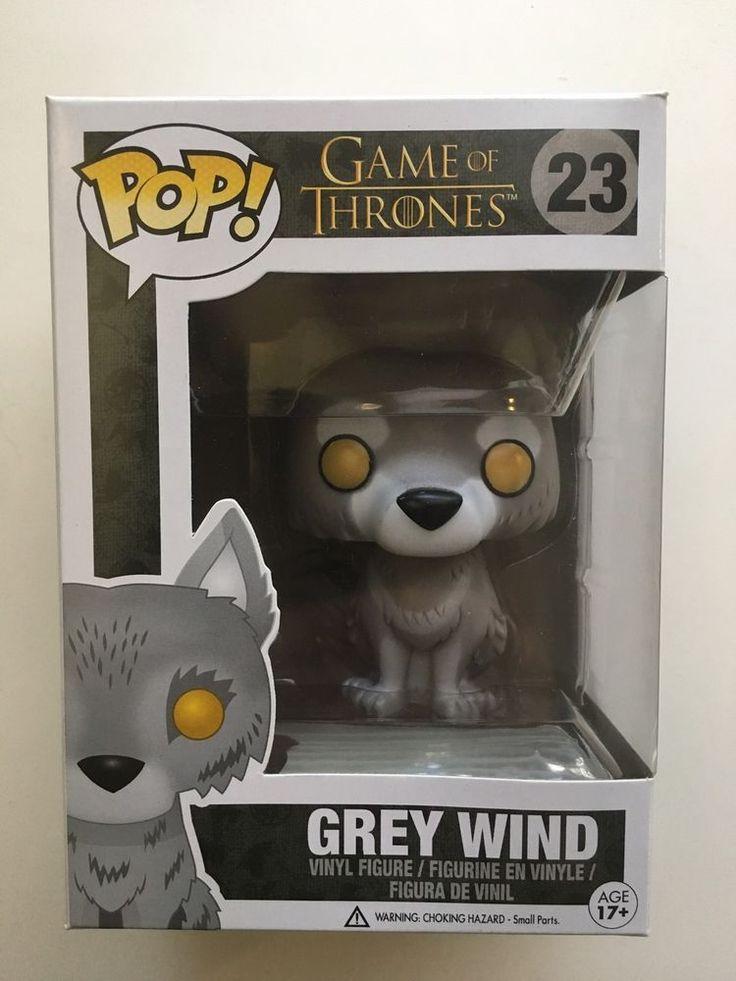 Grey Wind Funko POP Vinyl Game of Thrones #23 Vaulted Retired 7-Eleven Exclusive