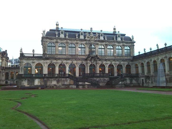 Der #Zwinger in der Altstadt von #Dresden