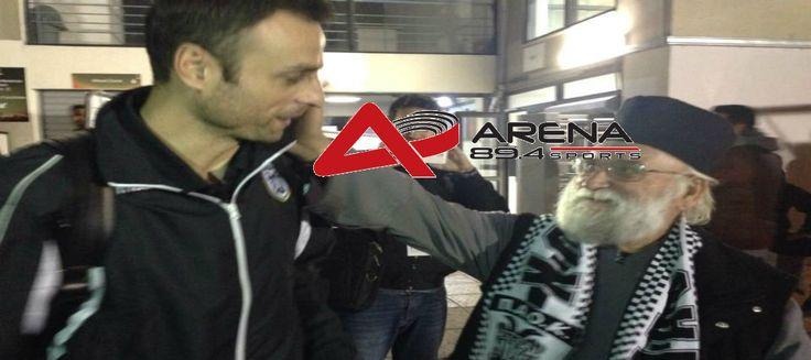 Ο πατήρ Αθανάσιος ο οποίος είναι φίλαθλος του ΠΑΟΚ και βρέθηκε χθες στην Τούμπα μίλησε στον ArenaFM 89.4. Αναφέρθηκ