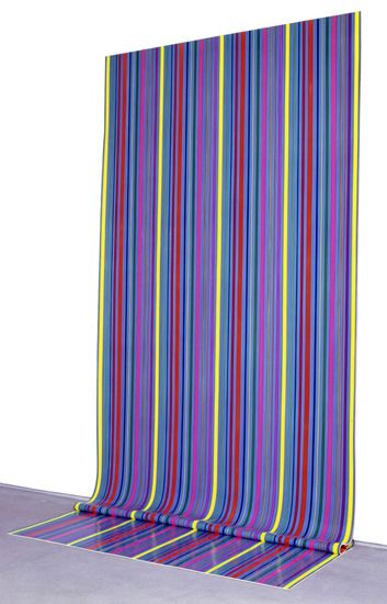LINDA BESEMER | Large Zip Fold #2, 2002