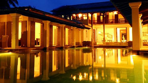 Jetwing Era Beach Hotel located in Unawatuna, Sri Lanka is a colonial style residence designed by a protege of Sri Lanka's renowned architect Geoffrey Bawa. Throughout its expanse – in the architecture and in choice of furniture and fittings, a strong Dutch influence prevails. https://www.malbevenhotels.com/srilankahotels/era-beach-by-jetwing_218_home_0.html
