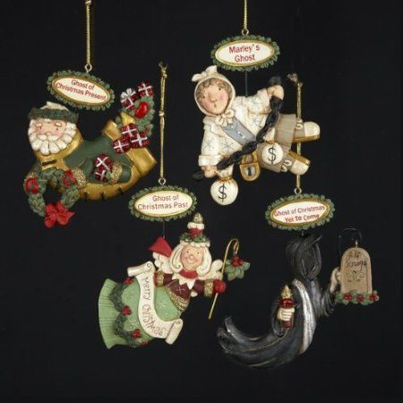 Victorian Christmas Tree Ornaments