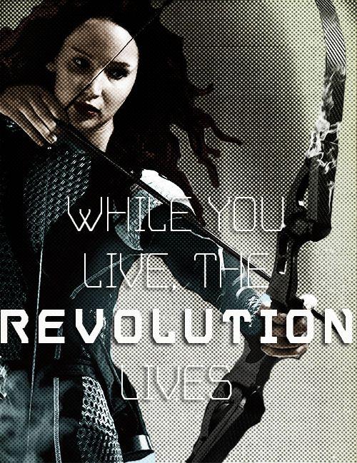 You're the Mockingjay, Katniss.