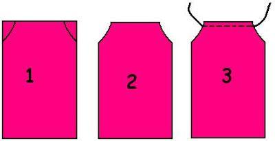 Cómo hacer un vestido para niña con la funda de una almohada ~ Olvídate de la crisis
