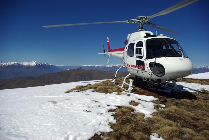 Snow landing at Mt Vangaurd