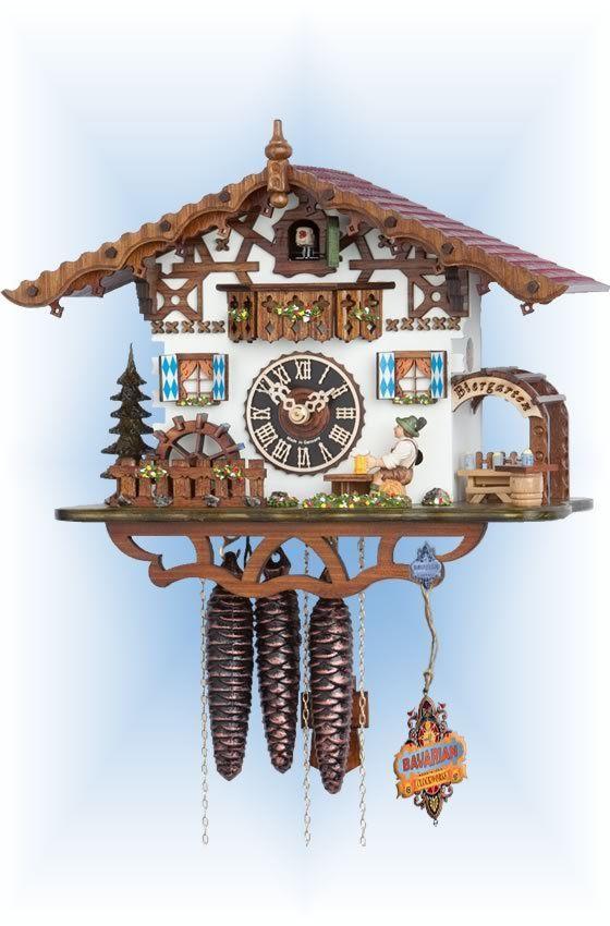 Hones Swiss Cottage cuckoo clock 10'' - Bavarian Clockworks