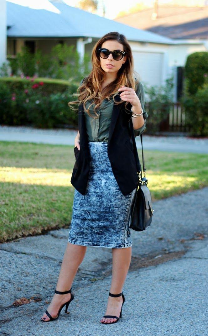 9 best ideas about Acid Wash Skirt on Pinterest | Olives, Denim ...