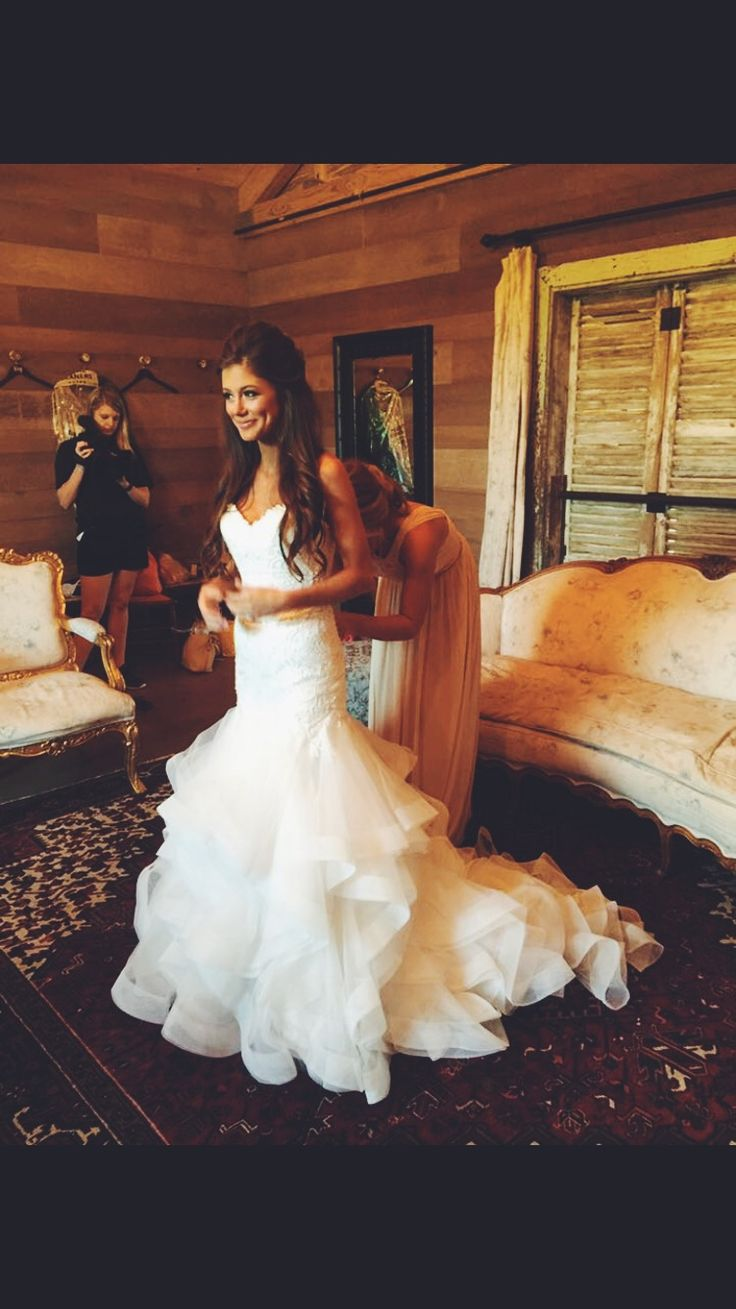 Peyton getting ready to become Mrs. Ganus