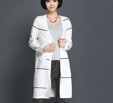 W30610H fashion strip cardigan women long cardigan knitted 2015 Best Buy follow this link http://shopingayo.space