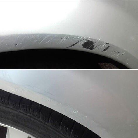 Janet Cameron recently used one of our kits to repair a pretty significant bit of paint damage on her car's arch. We've got to say we think she did a fantastic job it looks good as new! Get your kit at www.chipex.co.uk #chipex #chipextouchupkit #painttouchup #paintbooth #spraybooth #paintjob #carcare #carsofinstragram #detailing #detailerslife #detailersofinstagram