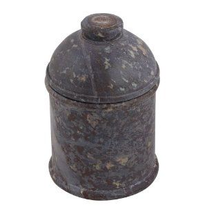 Boîte de rangement en pierre - Pot de table déco fait main: Amazon.fr: Cuisine & Maison