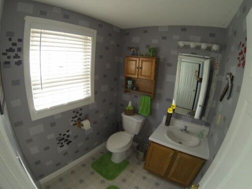 Epic bathroom i minecraft pinterest bathroom for Bathroom ideas minecraft