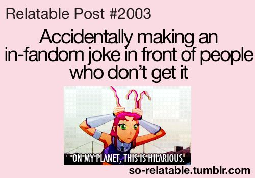 Always! Then I just laugh awkwardly by myself.<-- story of my life. I don't have any fangirl friends.