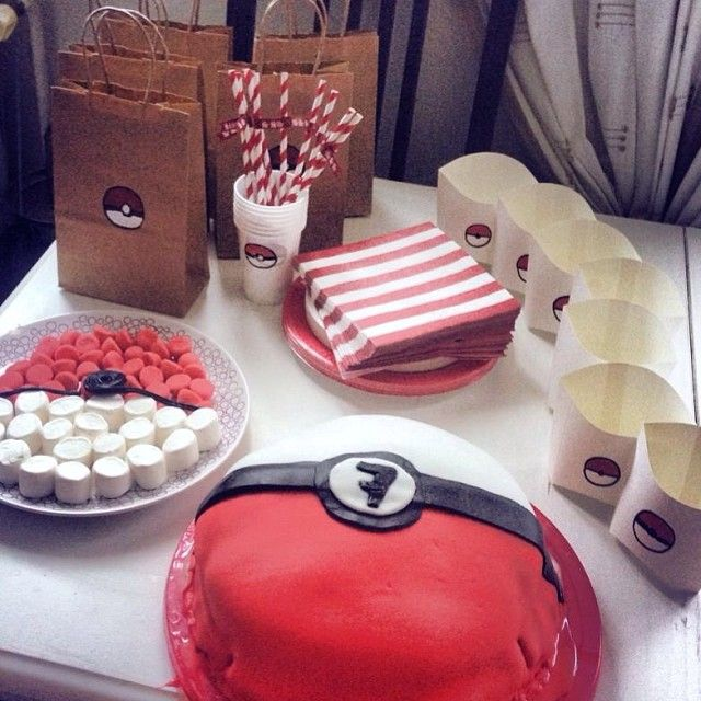 146 best brett 8 ans pok mon images on pinterest pokemon birthday birthdays and birthday - Organiser un anniversaire surprise ...