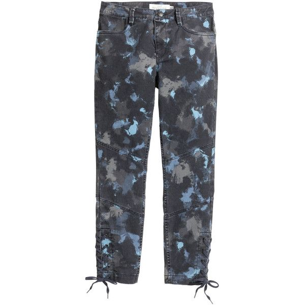 Gemusterte Jeans 29,99 via Polyvore featuring jeans and denim jeans