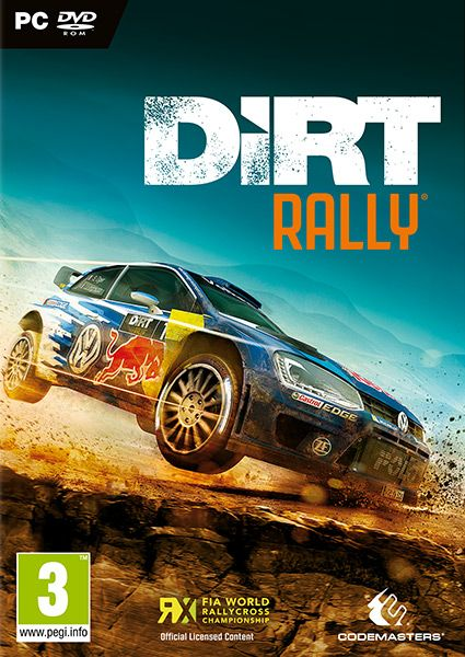 DiRT Rally Built by Codemasters and road tested over 60 million miles by the DiRT community, DiRT Rally is the ultimate rally experience. Publisher: KOCH Media Developer: Codemasters Genre: Racing Platform: PC, PS4, Xbox1 Release Date: 05/04/2016 #videogames #racing #PC #Rally #WRC