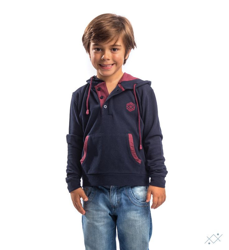 """Allows your child to get a casual but always distinct """"look"""", making this piece one of the require choices for this season.    Ocean Stitch - small details proudly made in Portugal"""