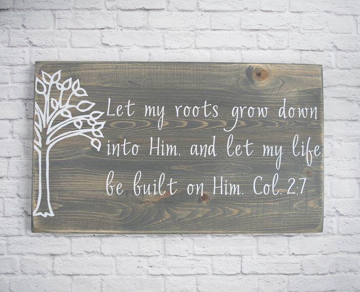 Christian Wood Sign U2013 Bible Verse Wall Art   Wood Wall Décor   Christian  Wall Plaque