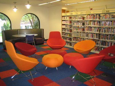 35 best Teen Library Spaces images on Pinterest