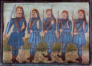 Χωροφυλακη νησου Σαμου, Θεόφιλος Κεφαλάς - Χατζημιχαήλ   Καμβάς, αφίσα, κορνίζα, λαδοτυπία, πίνακες ζωγραφικής   Artivity.gr