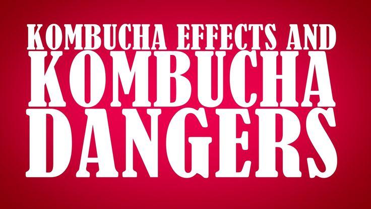 """""""Kombucha Tea Side Effects and Kombucha Dangers"""" by @GetKombucha from Ge..."""