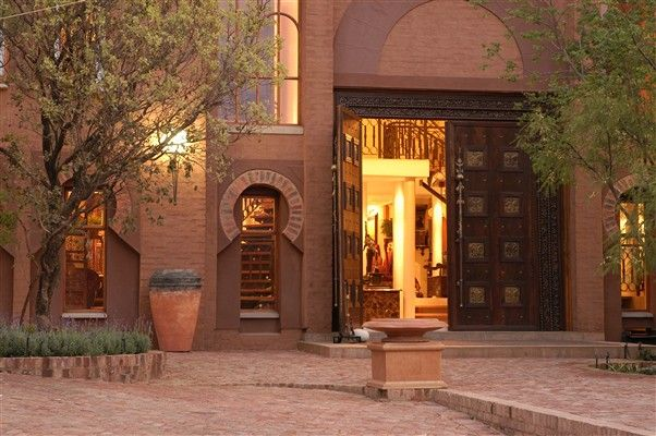 Entrance at the Orient