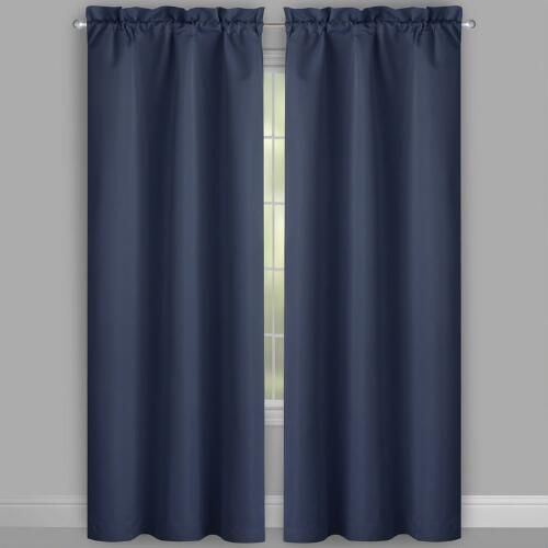 Solstice Diamond Room Darkening Window Curtains Set Of 2