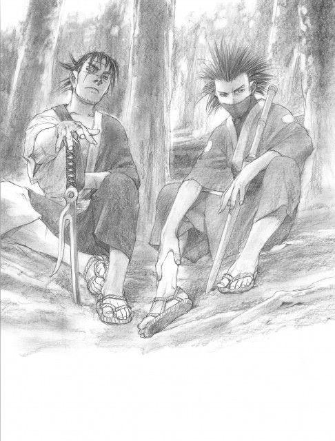 Hiroaki Samura, Blade of the Immortal, BotI Illustration Collection, Taito Magatsu, Manji