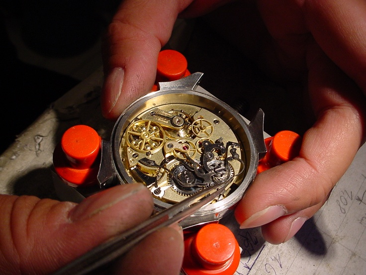 Complicated mechanism ... Audemars Freres repeater and minute chronograph