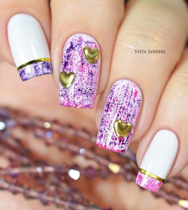 25 Diseños de uñas decoradas para la temporada 2016 / 2017 | Decoración de Uñas - Manicura y Nail Art